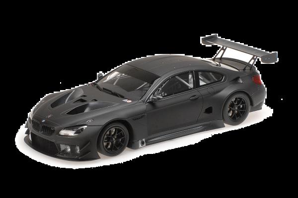 MINICHAMPS 1/18scale BMW M6 GT3 Plain Body 2016 Matte Black  [No.155162610]