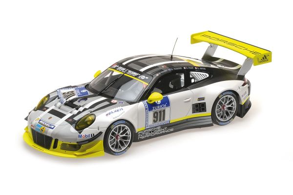 MINICHAMPS 1/18scale PORSCHE 911 GT3 R – MANTHEY RACING – TANDY/BAMBER/PILET/ESTRE – 24H NÜRBURGRING 2016  [No.155166911]
