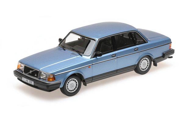 MINICHAMPS 1/18scale VOLVO 240 GL – 1986 – BLUE METALLIC  [No.155171404]