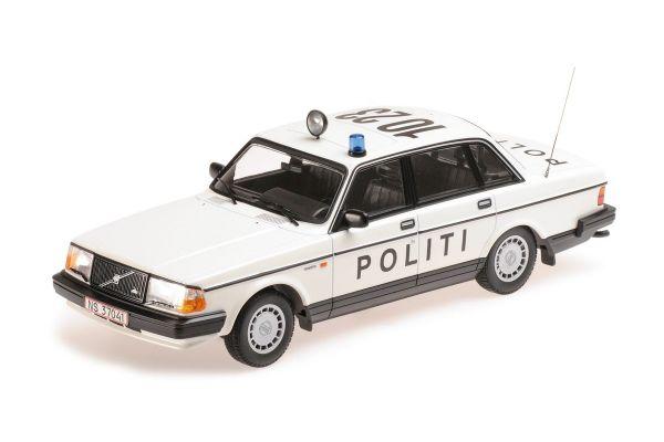 MINICHAMPS 1/18scale VOLVO 240 GL – 1986 – POLITI DANMARK  [No.155171495]