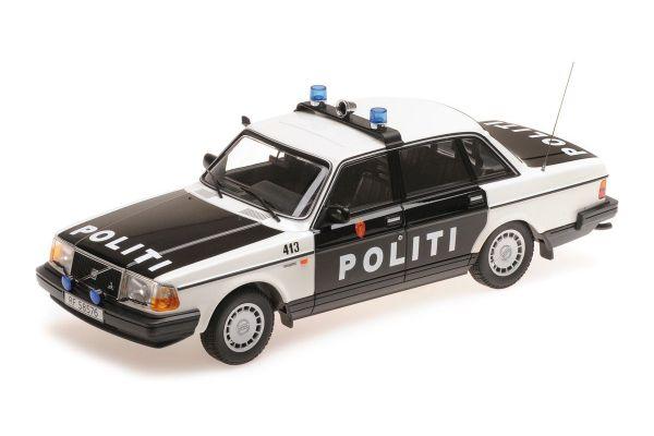 MINICHAMPS 1/18scale VOLVO 240 GL – 1986 – POLITI NORWAY 2  [No.155171496]