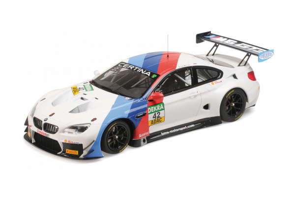 MINICHAMPS 1/18scale BMW M6 GT3#42 ADAC GT Masters 2017 Winners  [No.155172652]