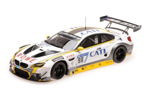 MINICHAMPS 1/18scale BMW M6 GT3 – ROWE RACING – PALTTALA/CATSBURG/SIMS/WESTBROOK – 2ND PLACE 24H NÜRBURGRING 2017  [No.155172698]