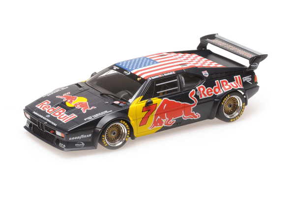 MINICHAMPS 1/18scale BMW M1 GR.4 – TEAM RED BULL – QUESTER/RICCITELLI – CLASS WINNERS 2017 HSR DAYTONA CLASSIC 24H  [No.155172907]