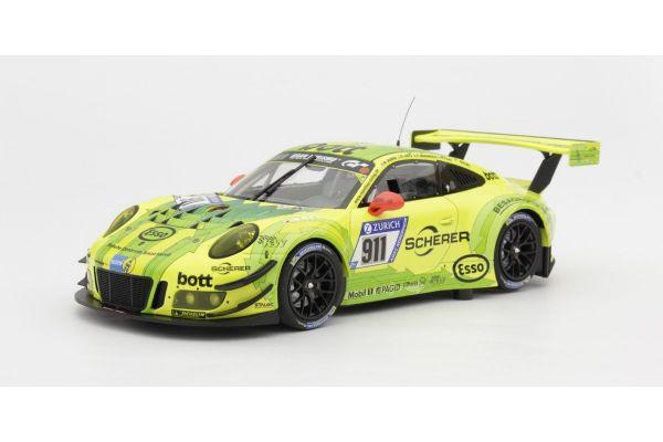 MINICHAMPS 1/18scale PORSCHE 911 GT3 R – MANTHEY RACING – DUMAS/MAKOWIECKI/PILET/LIETZ – 24H NÜRBURGRING 2017  [No.155176911]
