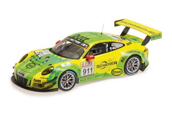 MINICHAMPS 1/18scale PORSCHE 911 GT3 R – MANTHEY RACING – MAKOWIECKI/LIETZ – WINNERS DMV 4H RENNEN VLN 2017  [No.155176991]