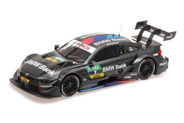 MINICHAMPS 1/18scale BMW M4 – BMW TEAM RBM – BRUNO SPENGLER – DTM 2018  [No.155182807]