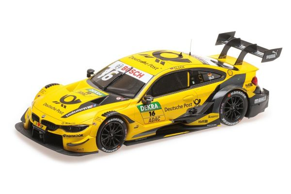 MINICHAMPS 1/18scale BMW M4 – BMW TEAM RMG – TIMO GLOCK – DTM 2018  [No.155182816]