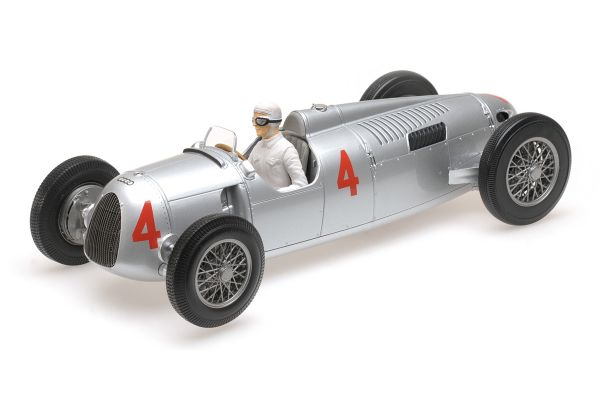 MINICHAMPS 1/18scale AUTO UNION TYP C – ACHILLE VARZI – 2ND PLACE GRAND PRIX AUTOMOBILE DE MONACO 1936  [No.155361004]