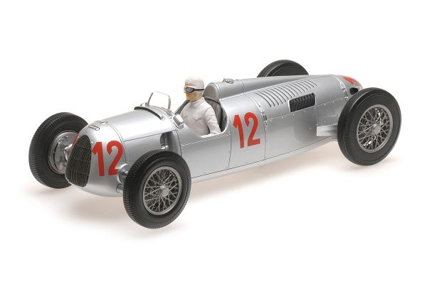 MINICHAMPS 1/18scale AUTO UNION TYP C – HANS STUCK – BUDAPEST GRAND PRIX 1936  [No.155361012]