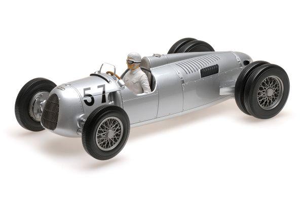 MINICHAMPS 1/18scale AUTO UNION TYP C – HANS STUCK – WINNER SHELSLEY WALSH HILLCLIMB 1936  [No.155361057]