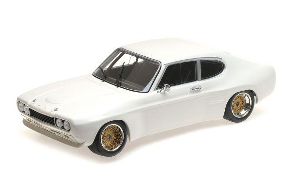 MINICHAMPS 1/18scale FORD RS 2600 – 1970 – WHITE  [No.155708500]