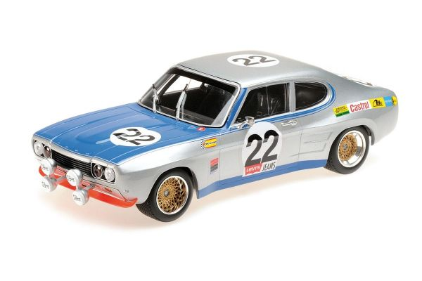 MINICHAMPS 1/18scale FORD RS 2600 - FORD KÖLN - GLEMSER/SOLER-ROIG - WINNERS 24H SPA 1971  [No.155718522]