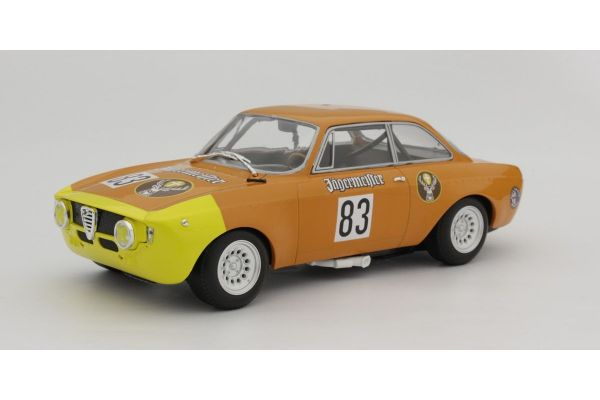 MINICHAMPS 1/18scale ALFA ROMEO GTA 1300 JUNIOR – JÄGERMEISTER – RAINER MASCHKE – DRM 1972  [No.155721283]