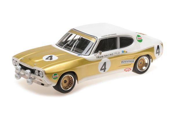 MINICHAMPS 1/18scale FORD RS 2600 – KENT FRAMI RACING TEAM – FRANCK/FRITZINGER – SPA 24H 1972  [No.155728504]