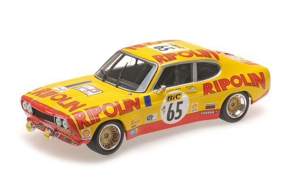 MINICHAMPS 1/18scale FORD RS 2600 – FORD DEUTSCHLAND – LARROUSSE/RIVES – TOUR DE FRANCE (AUTOMOBILE) 1972  [No.155728565]