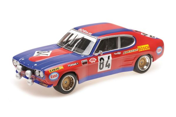 MINICHAMPS 1/18scale FORD RS 2600 - SHARK TEAM - ROUGET/GEURIE - LE MANS 24H 1972  [No.155728584]