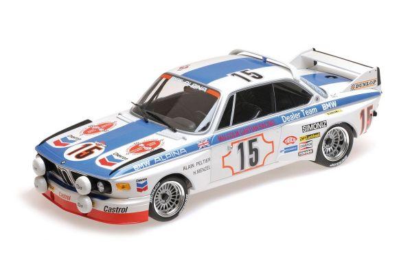 MINICHAMPS 1/18scale BMW 3.0 CSL – BMW ALPINA – PELTIER/MENZEL – 24H SPA 1973  [No.155732695]