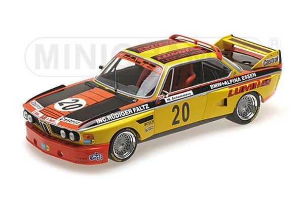 MINICHAMPS 1/18scale BMW 3.0 CSL – BMW-FALTZ-ALPINA-TUNING – WERNER SCHOMMERS – NORISRING TROPHÄE 1974  [No.155742620]