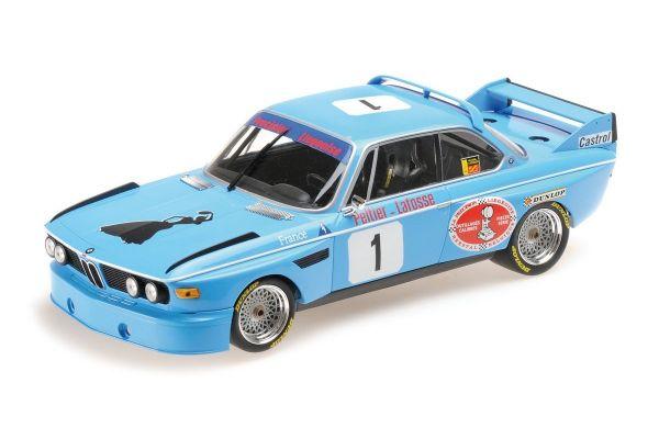 MINICHAMPS 1/18scale BMW 3.0 CSL - PRECISION LIEGEOISE - PELTIER/LAFOSSE - WINNERS 4H MONZA 1974  [No.155742681]