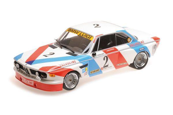 MINICHAMPS 1/18scale BMW 3.0 CSL - LUIGI RACING - DE FIERLANT/XHENCEVAL - WINNERS 24H SPA 1975  [No.155752602]