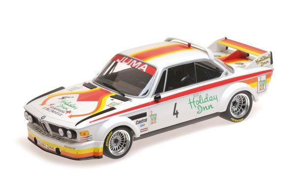 MINICHAMPS 1/18scale BMW 3.0 CSL – JUMA TUNING – CORBISIER/JOOSEN/BERNDTSON – GP NÜRBURGRING 1976  [No.155762504]