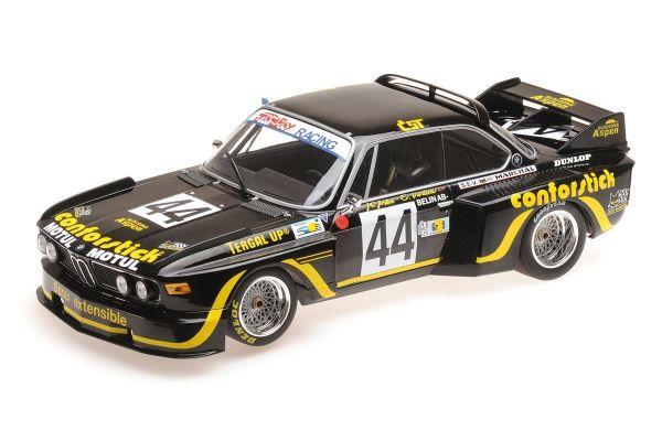 MINICHAMPS 1/18scale BMW 3.5 CSL - A.S.P.M.-TANDAY MUSIC - JUSTICE/BELIN - 24H LE MANS 1976  [No.155762644]