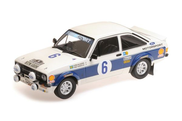 MINICHAMPS 1/18scale FORD RS 1800 – FORD MOTOR CO LTD – WALDEGARD/THORSZELIUS – WINNERS ACROPOLIS RALLY 1977  [No.155778706]