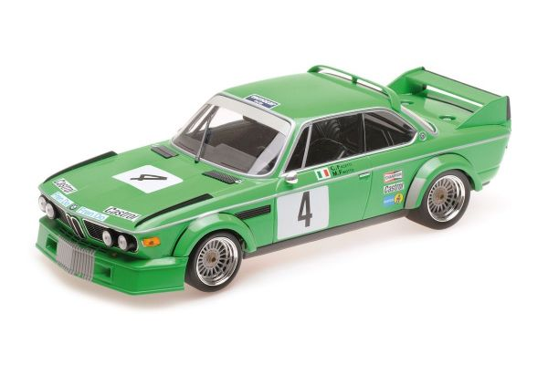 MINICHAMPS 1/18scale BMW 3.0 CSL - JOLLY CLUB MILANO - FINOTTO/FACETTI - WINNERS ETCC ZANDVOORT 1979  [No.155792504]