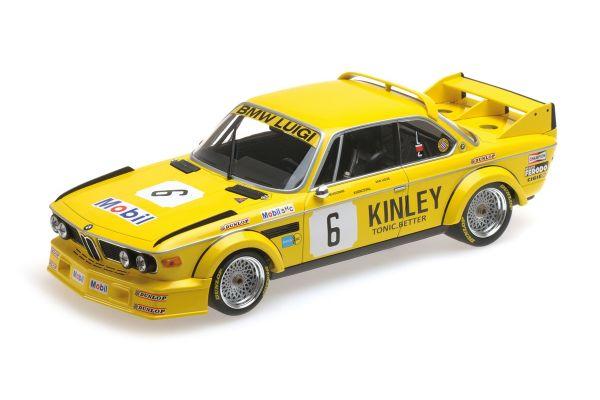 MINICHAMPS 1/18scale BMW 3.0 CSL – LUIGI RACING – VAN HOVE/XHENCEVAL/DIEUDONNÉ – WINNERS BRANDS HATCH 500 KM 1979  [No.155792506]