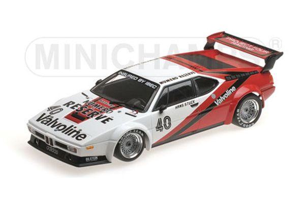 MINICHAMPS 1/18scale BMW M1 PROCAR - PROJECT FOUR RACING - HANS-JOACHIM STUCK - WINNER MONACO PROCAR SERIES 1980  [No.155802940]