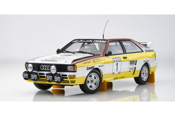 MINICHAMPS 1/18scale AUDI QUATTRO A2 - AUDI SPORT - RÖHRL/GEISTDÖRFER - SANYO RALLY OF NEW ZEALAND 1984  [No.155841101]