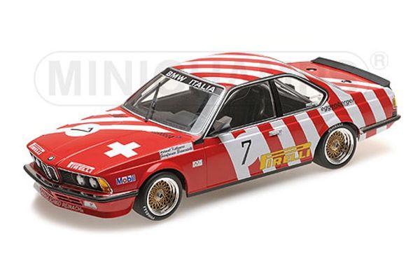 MINICHAMPS 1/18scale BMW 635 CSI - BMW ITALIA - BRANCATELLI/KELLENERS - GRAND PRIX BRNO 1984  [No.155842507]