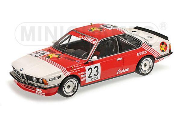 MINICHAMPS 1/18scale BMW 635 CSI – BELGA JUMA RACING – WINKELHOCK/REGOUT/GARTNER – 24H SPA 1985  [No.155852523]