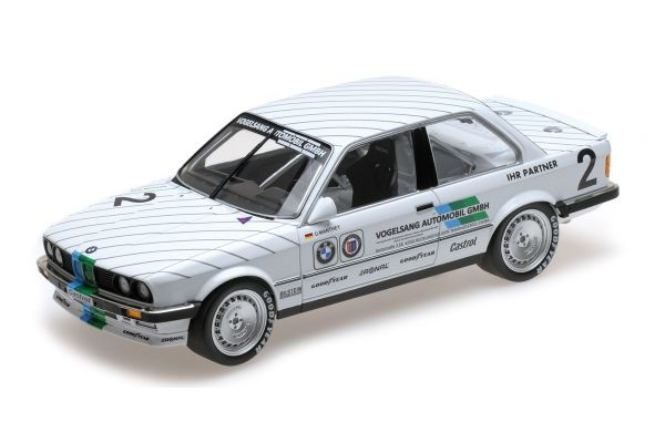MINICHAMPS 1/18scale BMW 325I – VOGELSANG AUTOMOBILE – OLAF MANTHEY – 3RD PLACE EIFELRENNEN DTM 1986  [No.155862602]