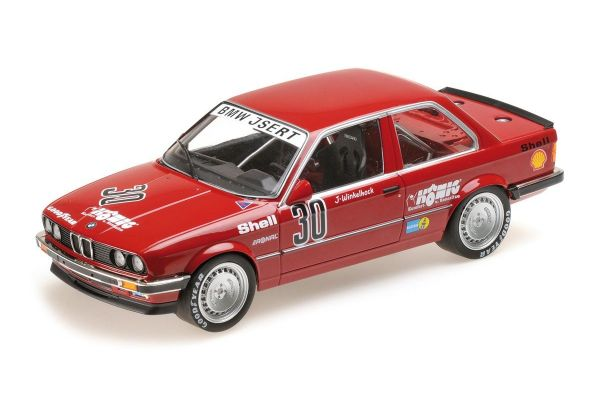 MINICHAMPS 1/18scale BMW 325I - JOACHIM WINKELHOCK - ADAC GROSSER PREIS DER TOURENWAGEN NÜRBURGRING DTM 1986  [No.155862630]