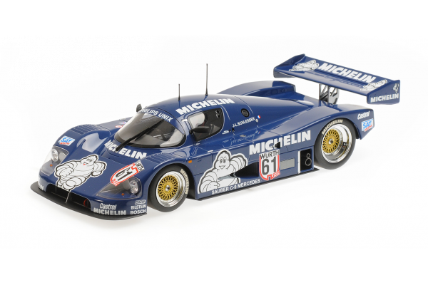 MINICHAMPS 1/18scale Sauber C9 # 61ADAC Super Print 1987 Winner  [No.155873581]