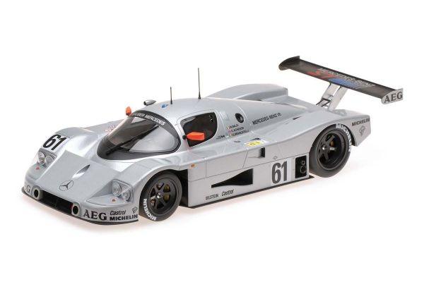 MINICHAMPS 1/18scale Sauber Mercedes C9 # 61 BALDI / ACHESON / BRANCATELLI Le Mans 24h 1989 2nd prize  [No.155893561]