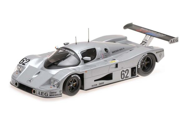 MINICHAMPS 1/18scale Sauber Mercedes C9 # 62 SCHLESSER / JABOUILLE / CUDINI Le Mans 24h 1989 5th place prize  [No.155893562]