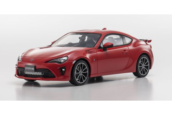SAMURAI 1/18scale TOYOTA 86 Red  [No.KSR18018R]