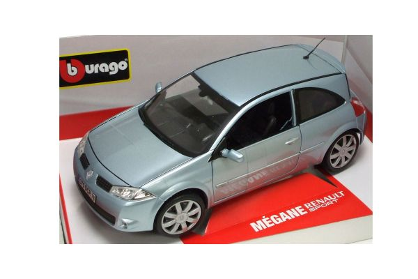 Bburago 1/18scale MEGANE RENAULT  SPORT Metallic Light Blue [No.18-11007BL]