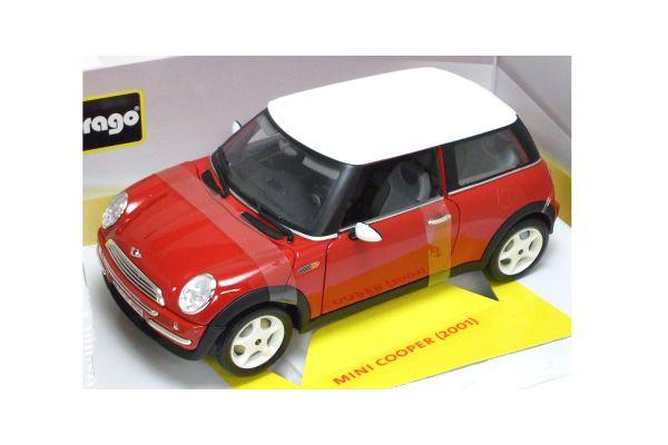 Bburago 1/18scale MINI COOPER Red [No.18-12034R]
