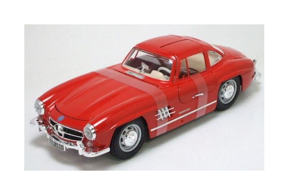 Bburago 1/18scale MERCEDES-BENZ 300 SL (1954) Red [No.18-12047R]