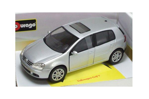 Bburago 1/18scale VW GOLF V SILVER [No.18-12071S]