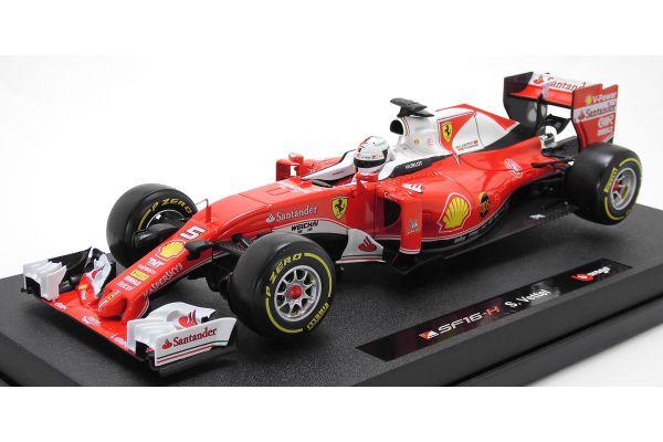 Bburago 1/18scale Ferrari F1 2016 Sebastian Vettel  [No.18-16802-5]