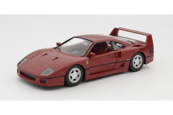 Bburago 1/24scale F 40 (Red) Race & Play Series  [No.18-26016R]