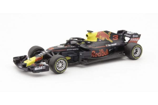Bburago 1/43scale Aston Martin Red Bull TAG Heuer RB14 No.3 D.Ricciardo  [No.BUR38035R]