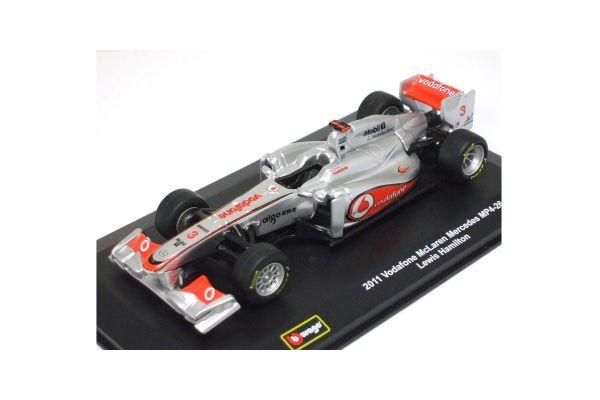 Bburago 1/32scale McLaren Mercedes 2011 L.Hamilton  [No.18-41203LH]