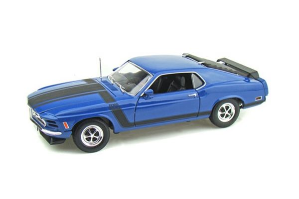 WELLY 1/18scale 1970 フォード マスタング BOSS 302 BLUE [No.WE18002BL]