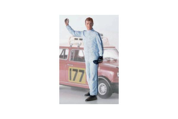 figurenmanufaktur 1/18scale ラウノ アウグスト アルトーネン フィンランドのラリードライバー [No.FIG180092]